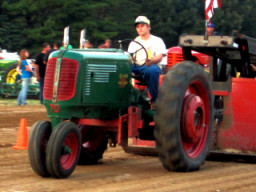 Tractor Pull Closeup