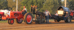 Tractor Pull with Full Sled